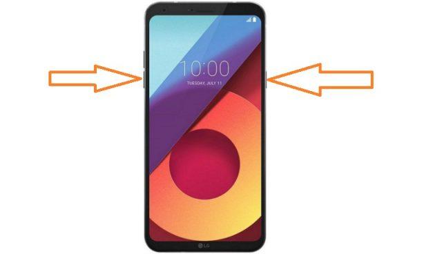 LG Q6 Ekran Görüntüsü Nasıl Alınır?